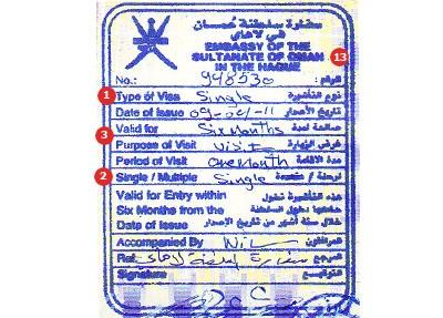 Visum Oman